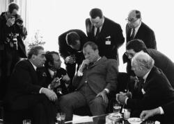 Leonid Breschnew, Willi Brandt, Bonn