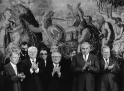 Staatsbesuch Erich Honecker, Bonn