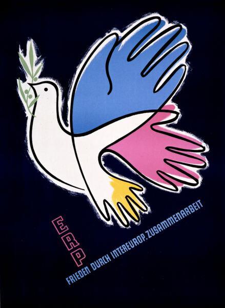 ERP: Frieden durch Intereurop. Zusammenarbeit