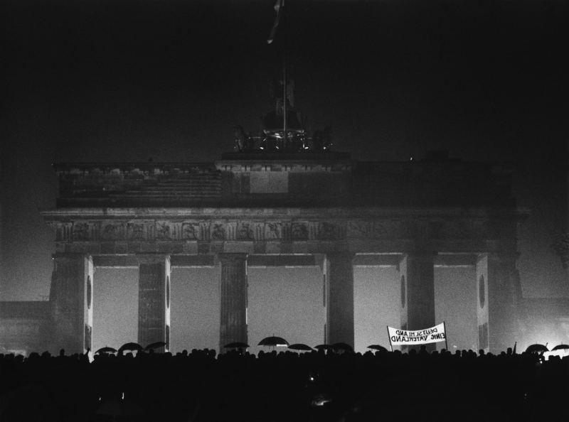 Öffnung des Brandenburger Tors