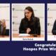 Three win prestigious Hoopes Prize