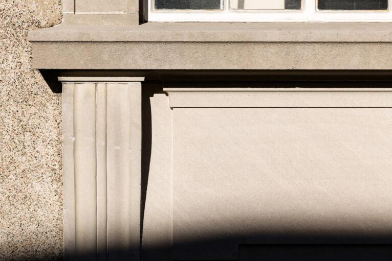 Window Sill Adolphus Busch Hall CES Harvard